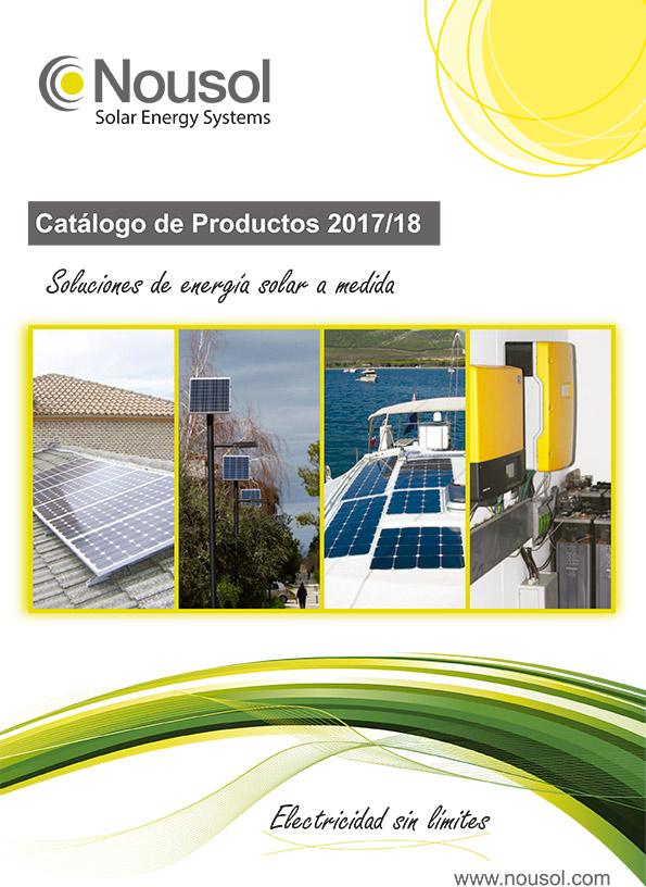 Nousol presenta el nuevo Catálogo de Productos 2017/2018 lleno de novedades.