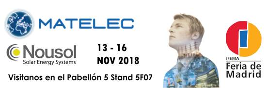 New Nousol Catalgo 2018-19 Matelec International Trade Fair for the Electrical and Electronic Industry