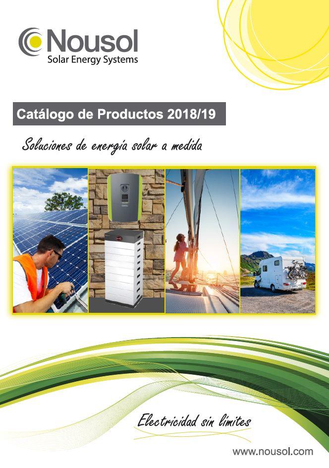 Nuevo Catalogo Nousol 2018/2019. Ven a Verlo a la Feria Matelec