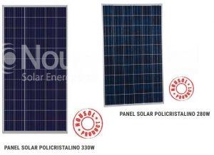 Paneles Solares 330Wp y 280Wp