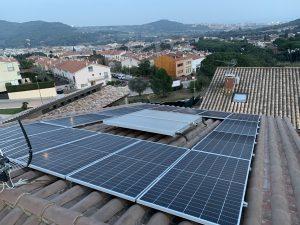 instalacion paneles solares fotovoltaicos en Argentona
