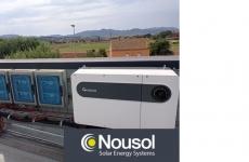 Proceso de instalación de Paneles Solares Fotovoltaicosen la sede de Nousol